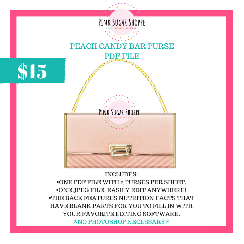 PSS - PEACH - PURSE FILE