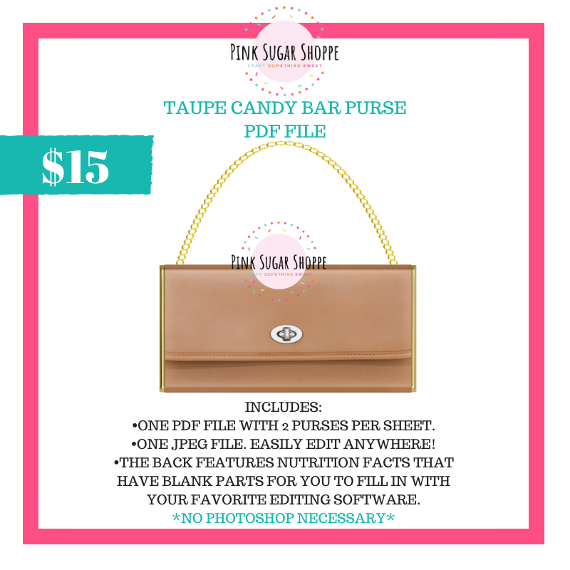PSS - TAUPE - PURSE FILE