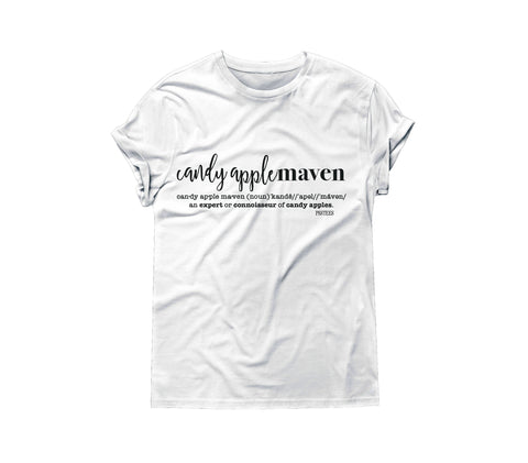 CANDY APPLE MAVEN TSHIRT