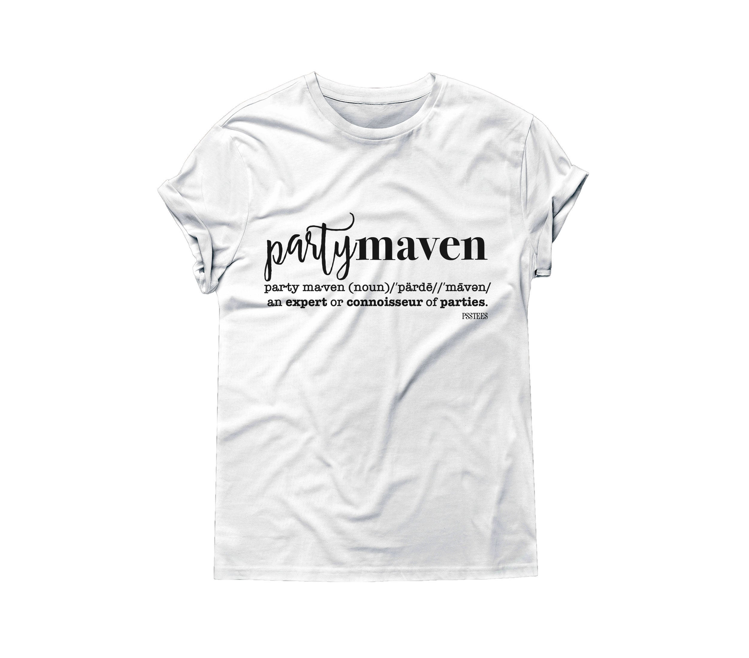 PARTY MAVEN TSHIRT