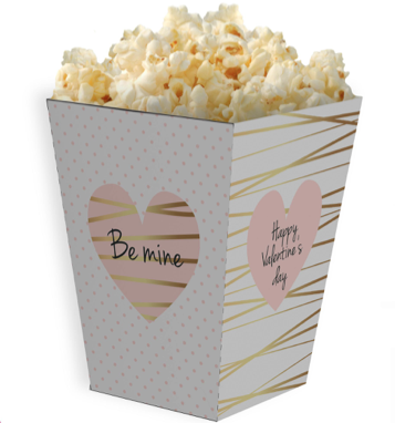 PINK SUGAR SHOPPE POPCORN BOX TEMPLATE & TUTORIAL
