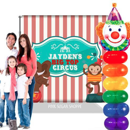 PINK SUGAR SHOPPE BANNERS AND BACKDROPS E-CLASS - VIDEO