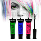 Neon UV Hair Streaks - 3 Multi Pack