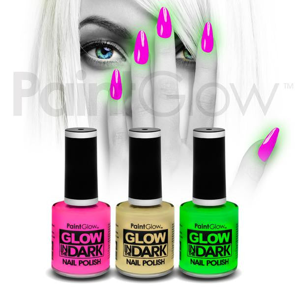 Glow in the Dark Nail Polish - Multi 3 Pack