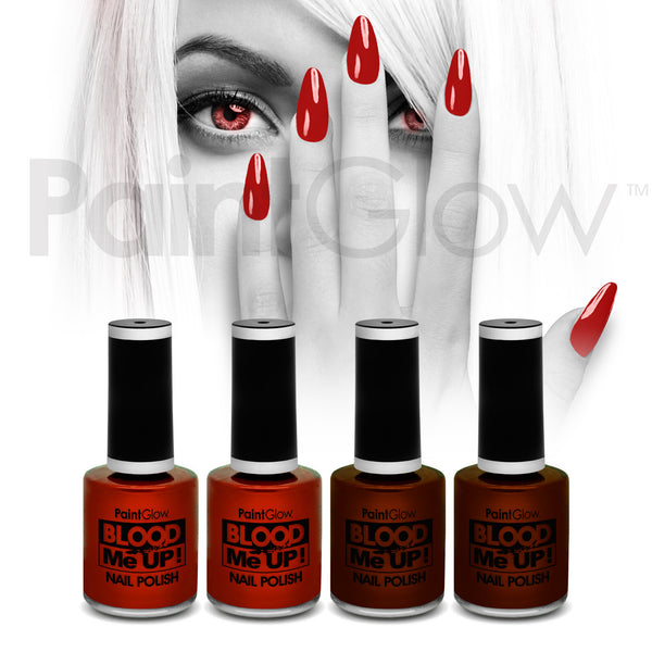 Blood Nail Polish (4 Pack)