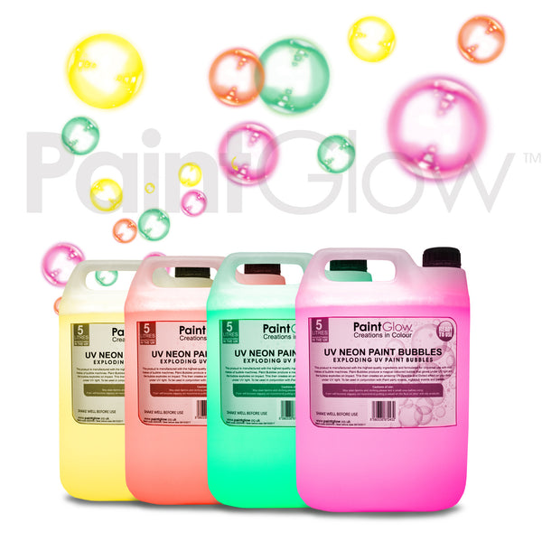 UV Paint Bubbles (4 Pack)