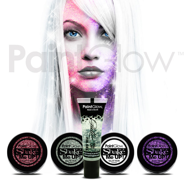 Glitter Shaker & Fix Gel (5 Pack)