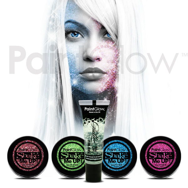 Holographic Glitter Shaker & Fix Gel (5 Pack)