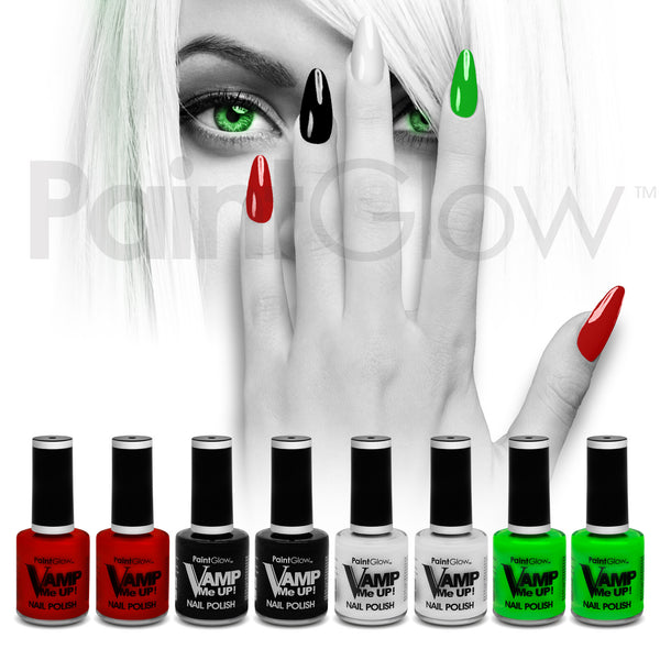 Vamp Nail Polish (8 Pack)