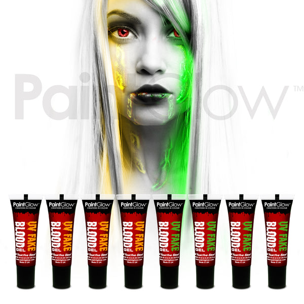UV Fake Blood (8 Pack)