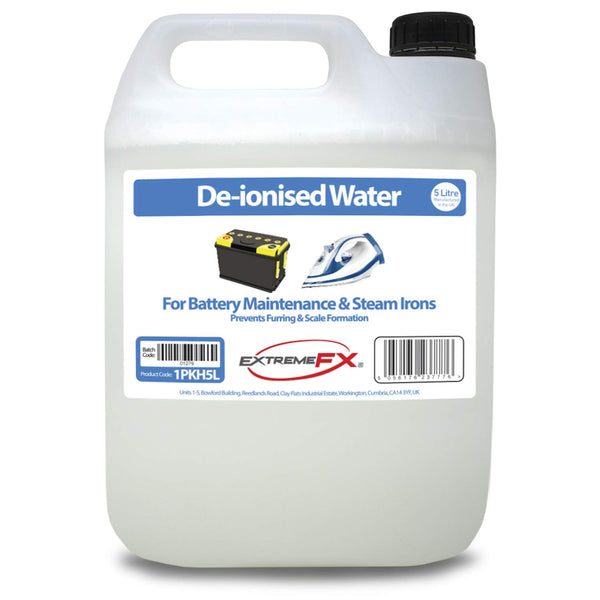 De-ionised Water 5