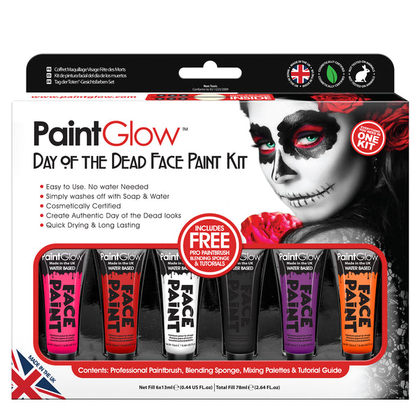 Day of the Dead Paint Kit