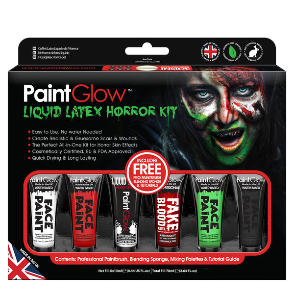 Liquid Latex Horror Paint Kit