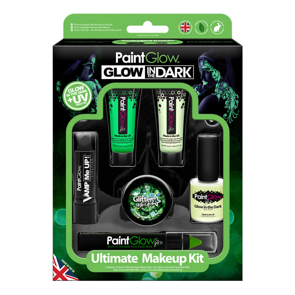 Glow in the Dark Ultimate Makeup Kit