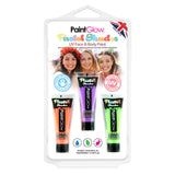 Pastel UV Face & Body Paint Hang Packs
