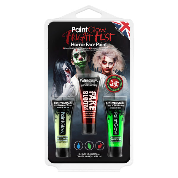 Fright Fest Halloween Blood & Glow Hang Pack