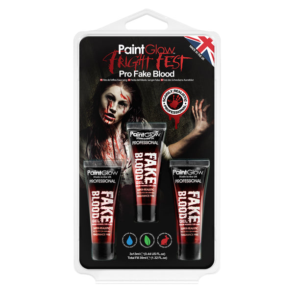 Fright Fest Pro Fake Blood Hang Pack