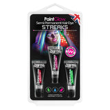 UV Semi Permanent Hair Dye Streaks Hang Packs