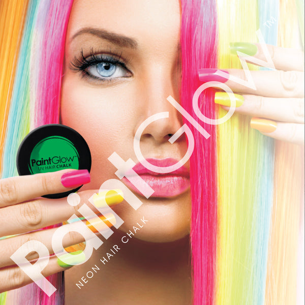 Pink Neon UV Hair Chalk