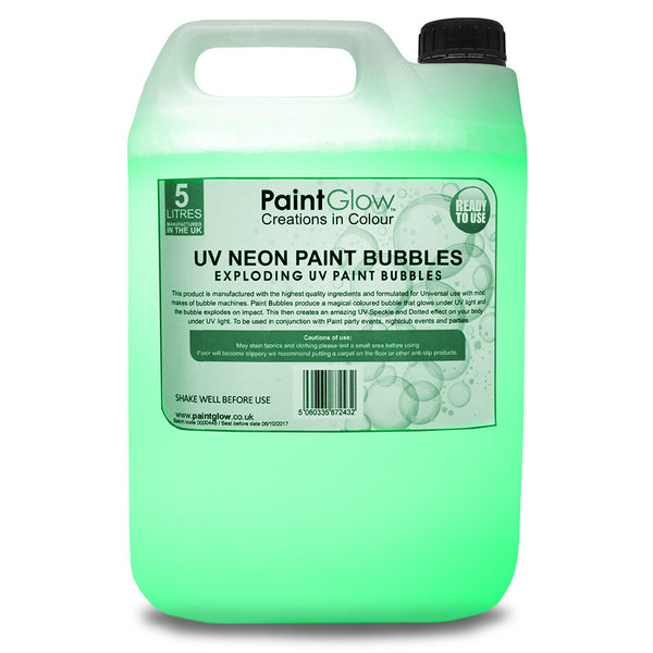 UV Paint Bubbles, 5L