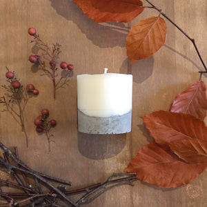 concrete candle - Autumn Forest