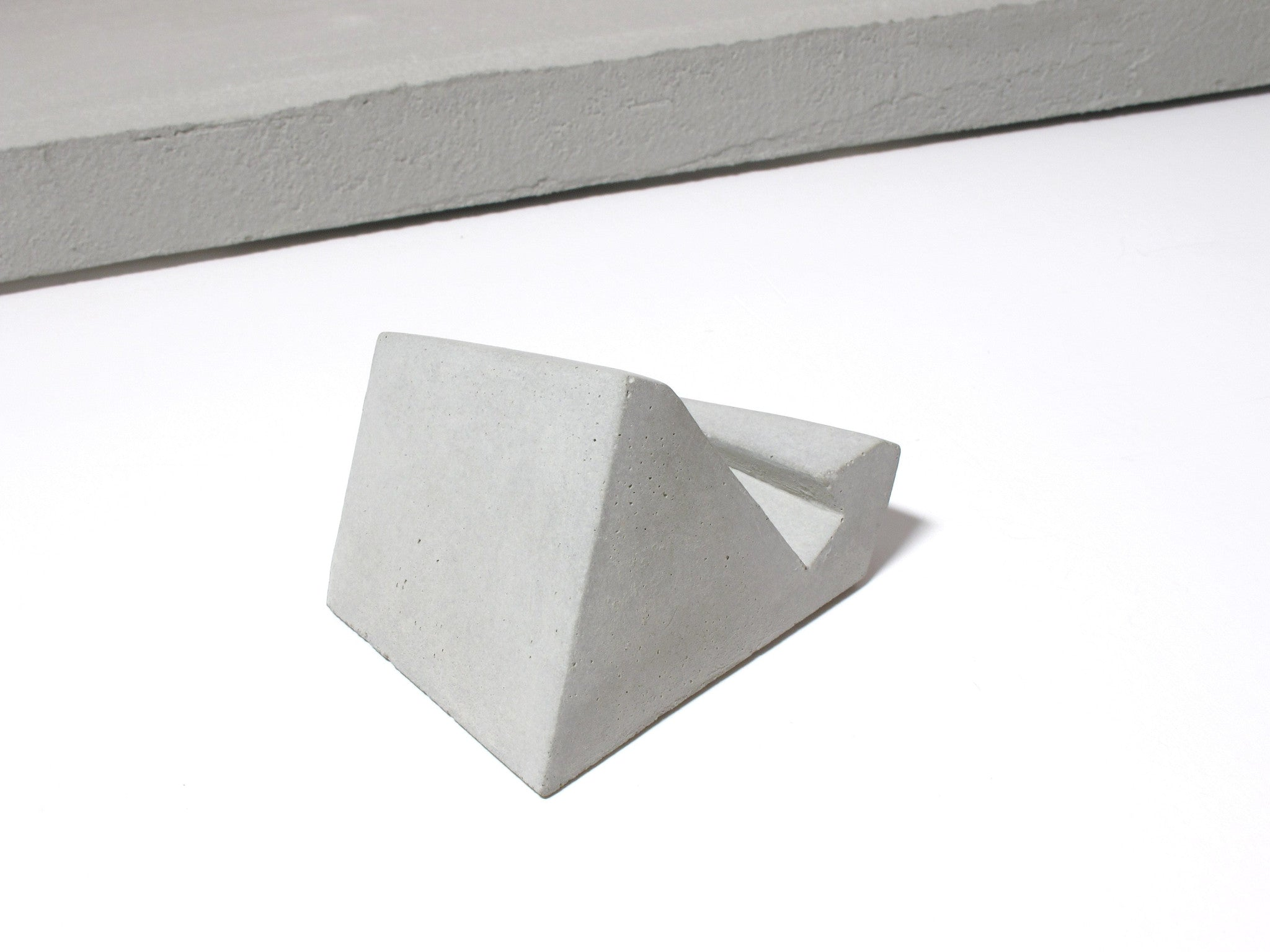 Concrete desktop business card holder vertical business cards concrete desktop business card holder vertical business cards colourmoves