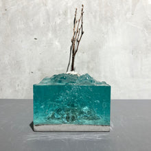 concrete x resin art | life companion, 2020 | W205mm x D90mm x H230mm