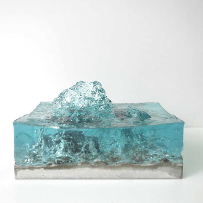concrete x resin art | tidal wave
