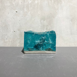 concrete x resin art | landscape | W90mm x D90mm x H65mm