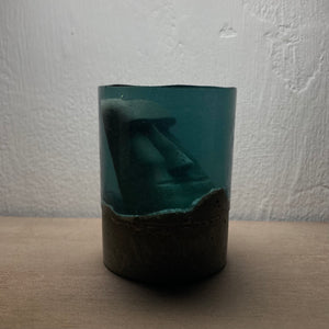 concrete x resin art | moai | D54mm x H70mm