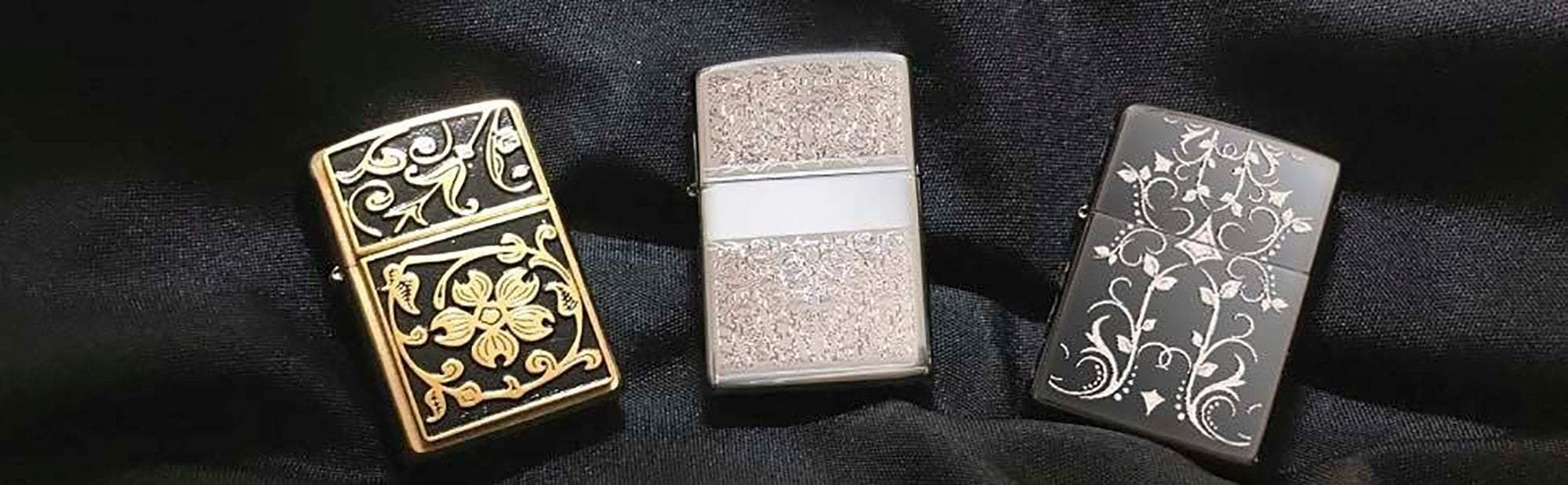 Banner for the Filigree Lighters collection