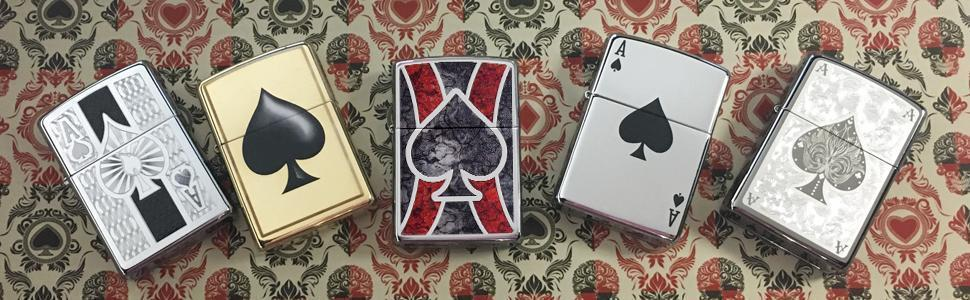 Banner for the Ace Lighters collection