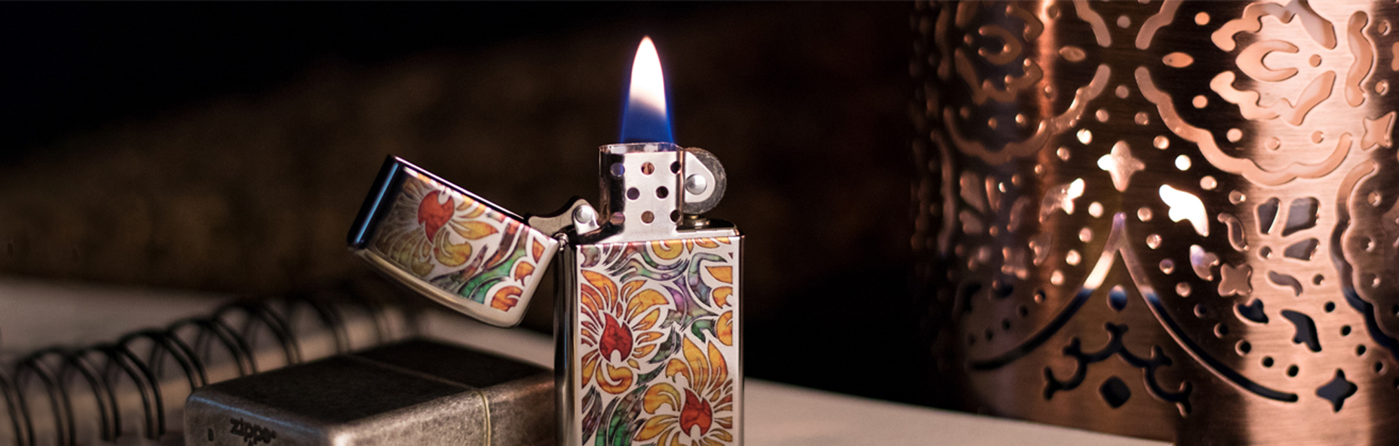 Banner for the Fusion Lighters collection