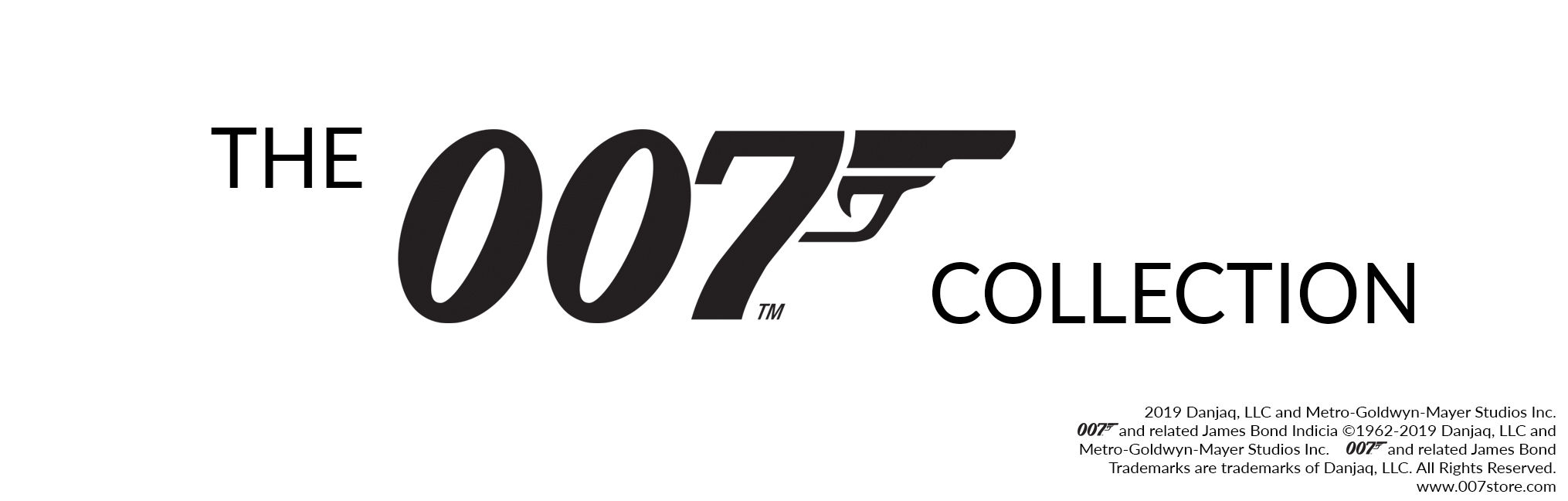 Banner for the James Bond collection