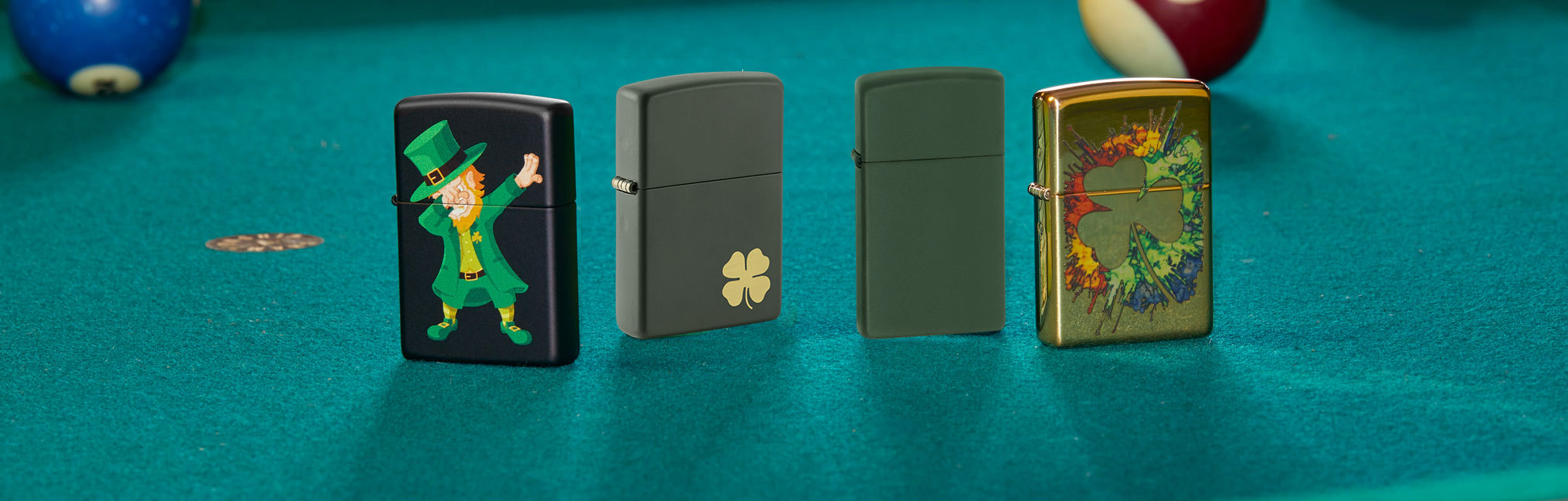 Banner for the Lucky Lighters collection