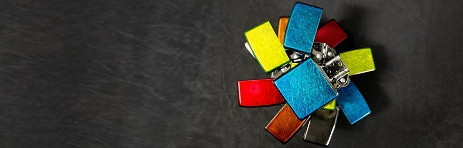 Banner for the Translucent Colored Lighters collection