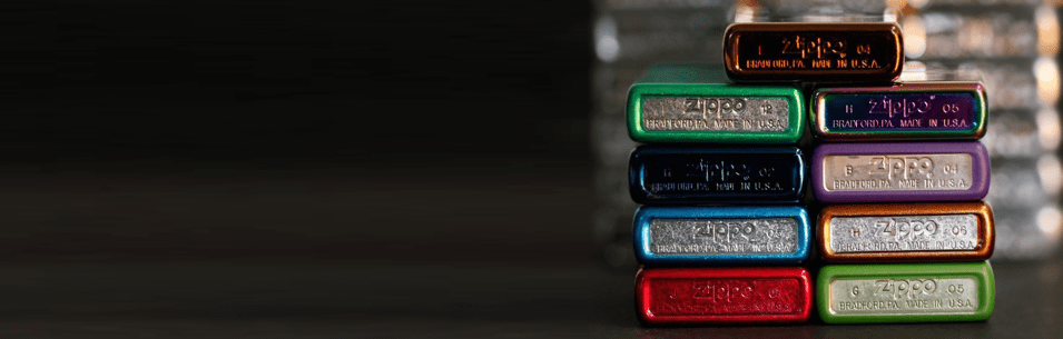 Banner for the Colored Lighters collection