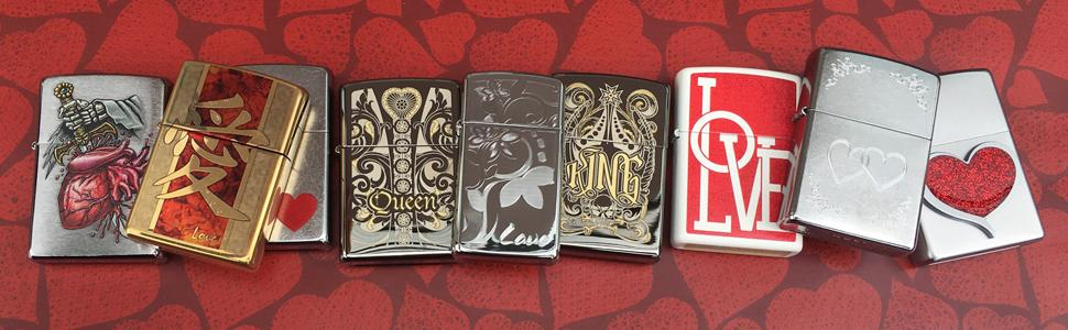Zippo Love Lighters