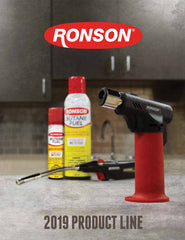 2019 Ronson USA Catalog - Click to Download