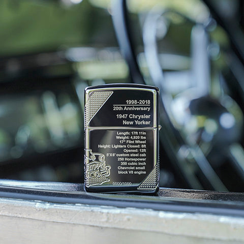 limited quantity zippo car lighter