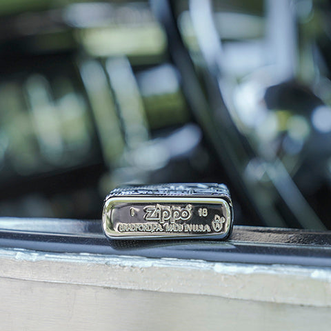 20th anniversary zippo car bottom stamp