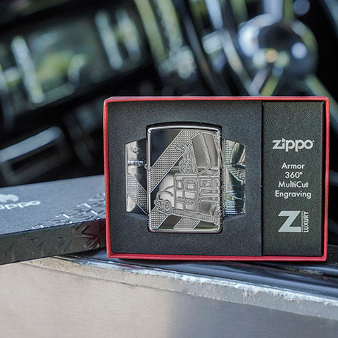 20th anniversary zippo car packaging