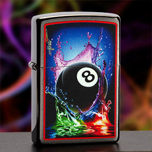 Eight Ball Mazzi Lighter