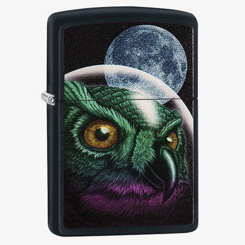 Space Owl Color Image Lighter