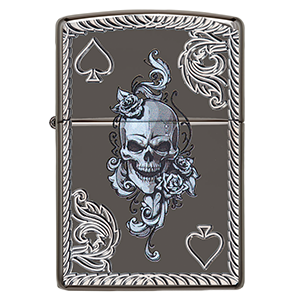 Deep Carve Skull Lighter