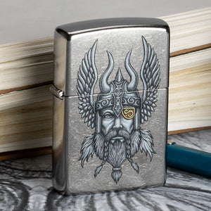 Nordic Viking Hand Drawn Lighter