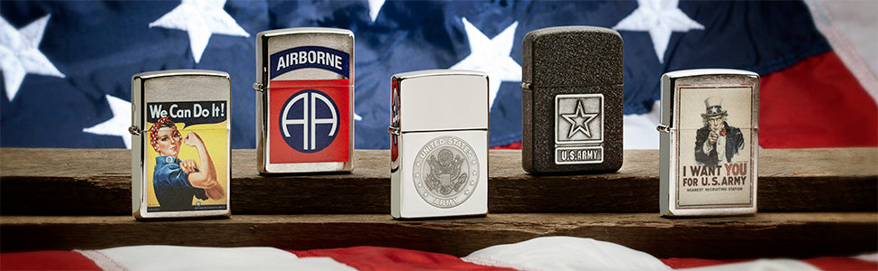 Zippo Army Lighters