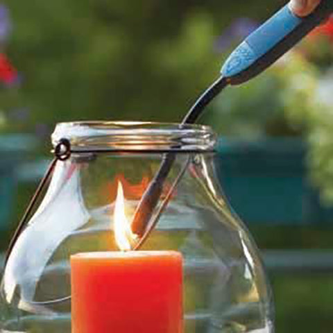 Flex Neck Lighter Lighting a Candle