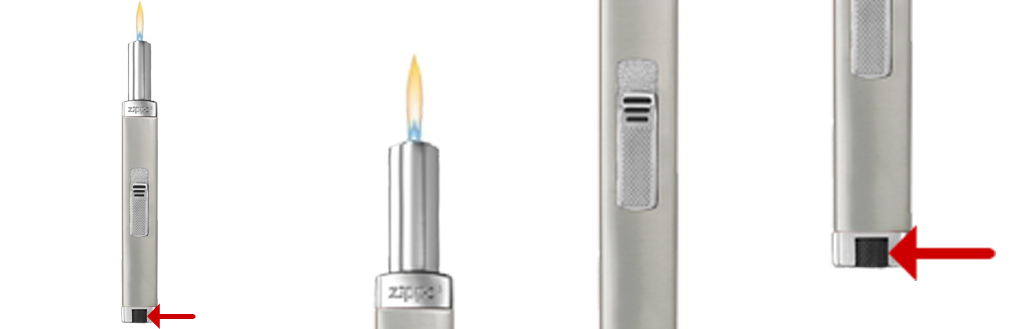 Adjustable Flame Candle Lighter