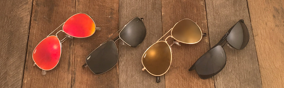 Aviator Sunglasses Banner